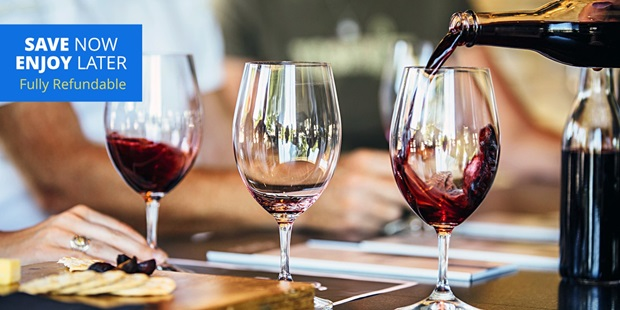 Williamson Wines in downtown Healdsburg earns a 95% approval rating from Travelzoo members -- perfect pairings with food and generous wine pours, one member describes.
