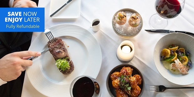 Travelzoo member-favorite Alexander's Steakhouse in downtown Pasadena is back. Eater LA says it might be the most elegant and suave steakhouse to open in recent years, with dishes that would befit a Michelin-starred white tablecloth establishment.