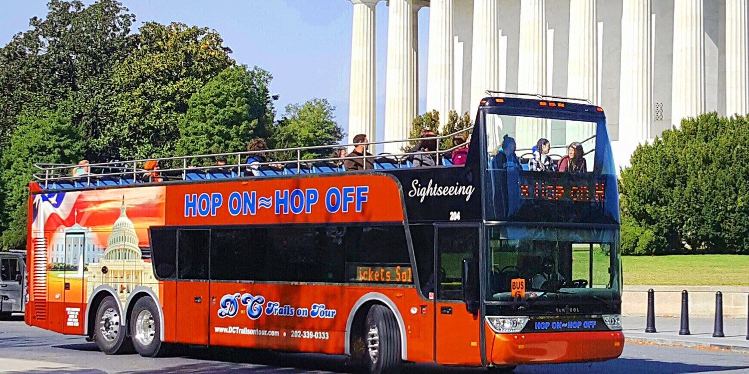 $25 -- 2-Day Unlimited D.C. Bus Tour, Valid into April 2017