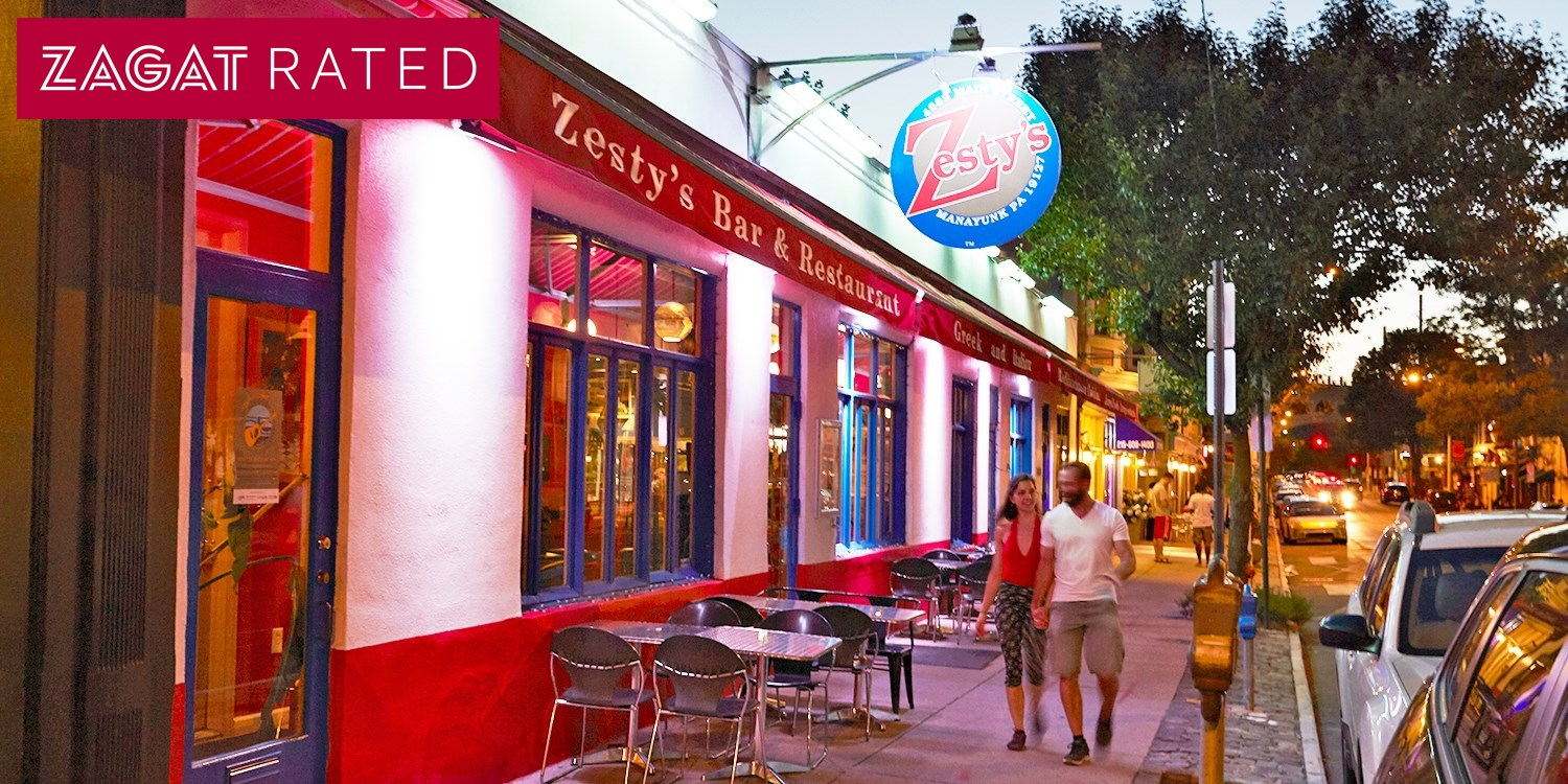 $45 -- Zesty's: Zagat-Praised Mediterranean Dinner, 50% Off