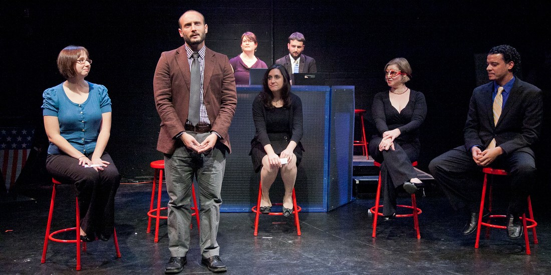 $16 -- Political Comedy at Washington Improv Theater w/Drink