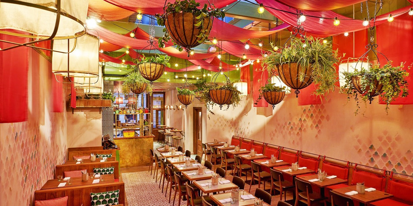 'Vibrant' Indian lunch & drink for 2 in Covent Garden