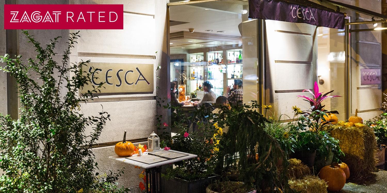 Cesca Restaurant New York City