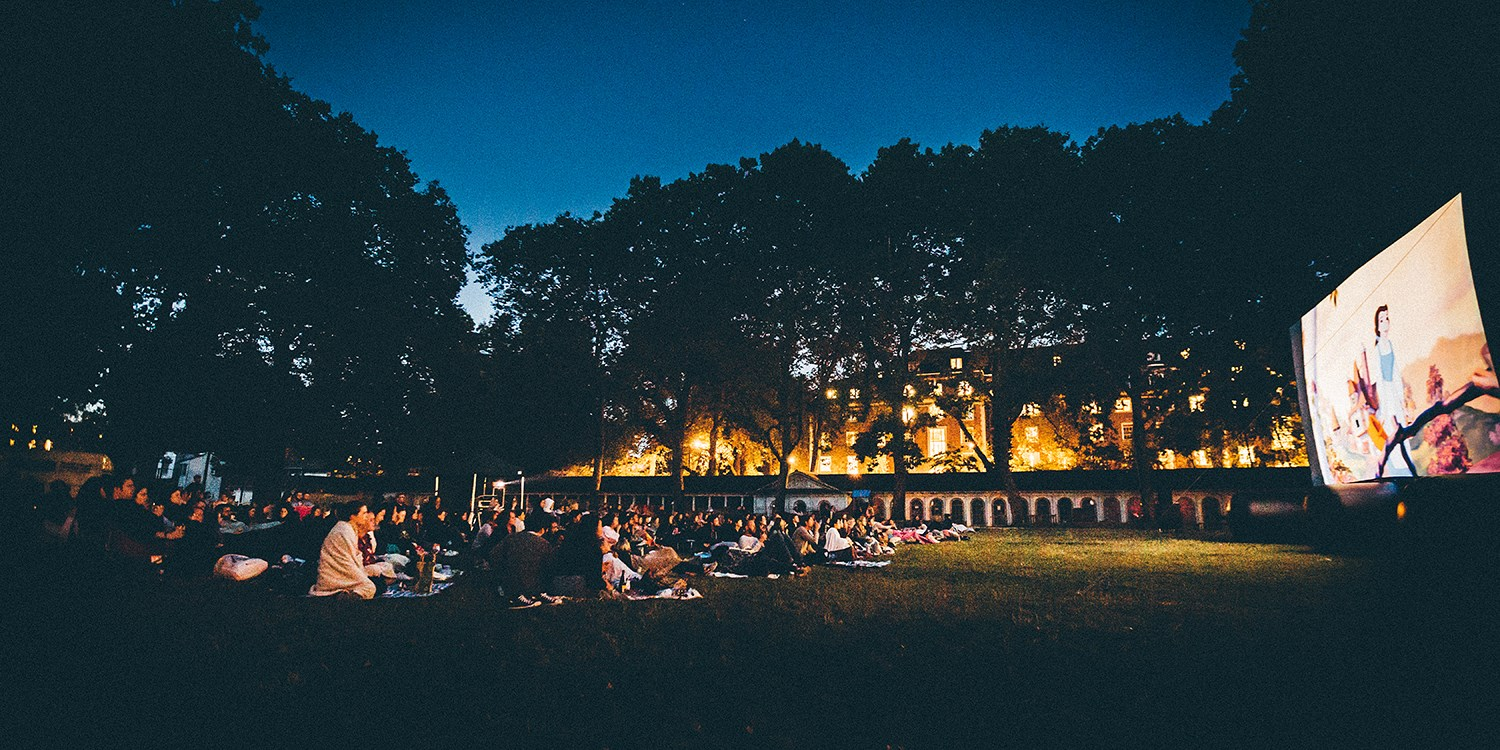 Outdoor cinema screening in London, 56% off