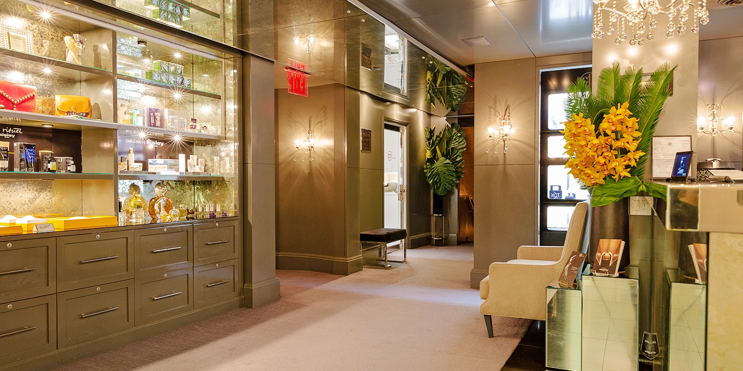 139 the carlyle nyc sisley paris spa day with for Pareti salone
