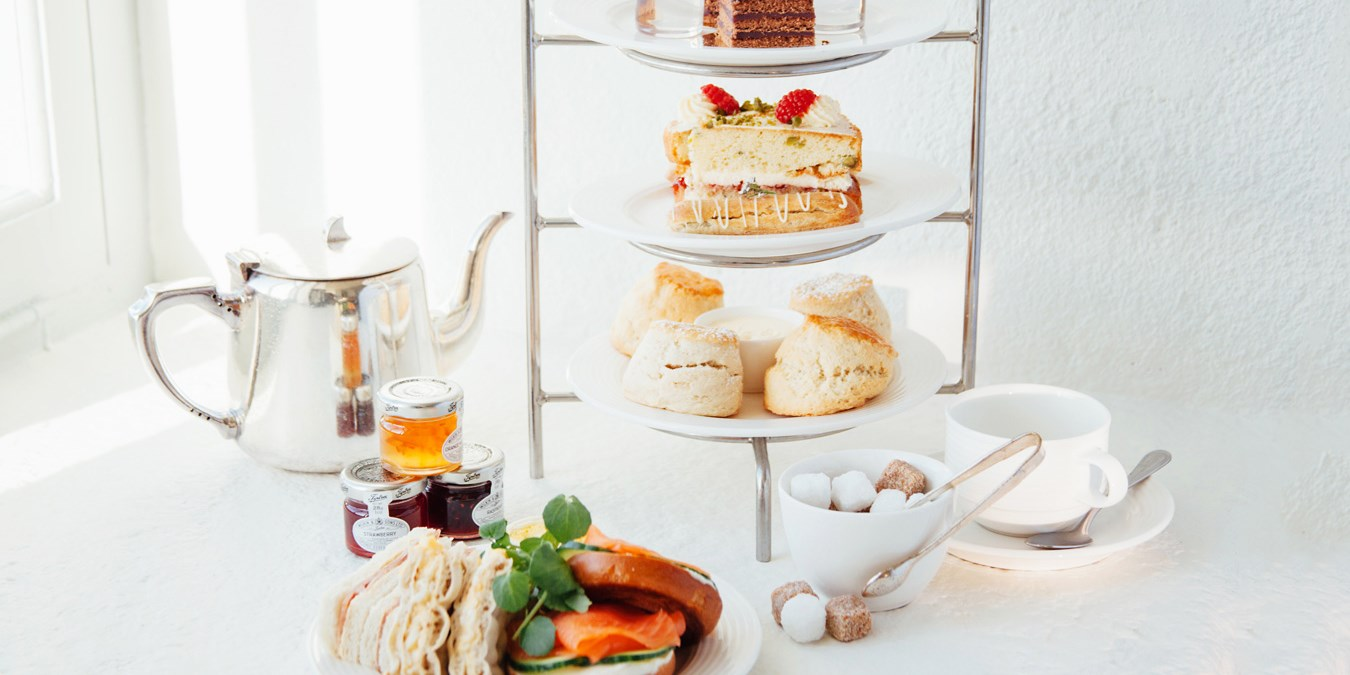 Sparkling afternoon tea & garden entry for 2