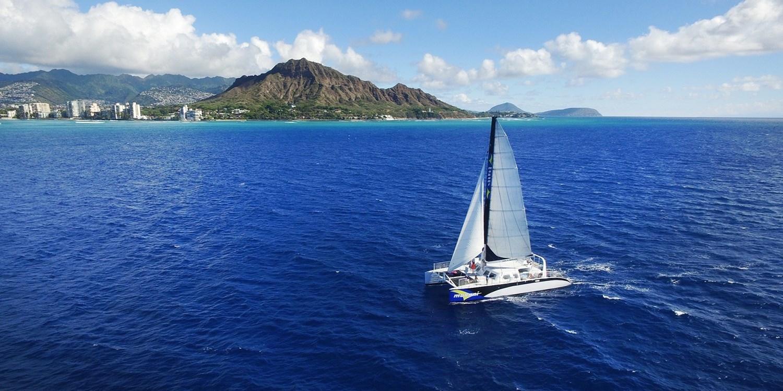 42 Amp Up Oahu Catamaran Sail Afternoon Or Sunset