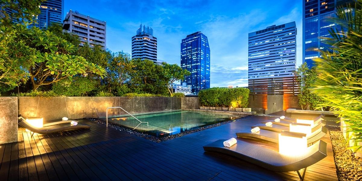 Zentrales 4*-Hotel in Bangkok mit Dachterrasse, -45%