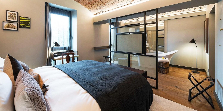 Designhotel in ehemaligem Gefängnis & Menü, -69%