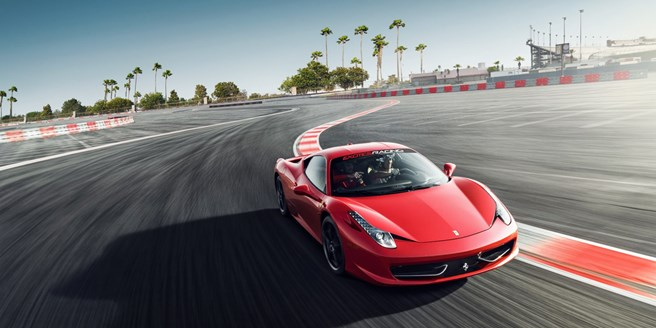 279 Luxury Car Racing Experience In Vegas W Video Travelzoo