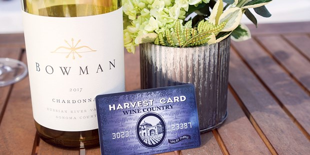 Harvest Card provides savings on dozens of Wine Country experiences, from free tastings to exclusive hotel discounts.