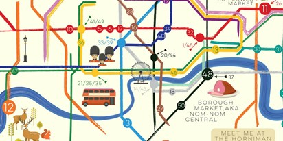 Free London Map.50 Free Things To Do In London This Summer On A Tube Map Travelzoo
