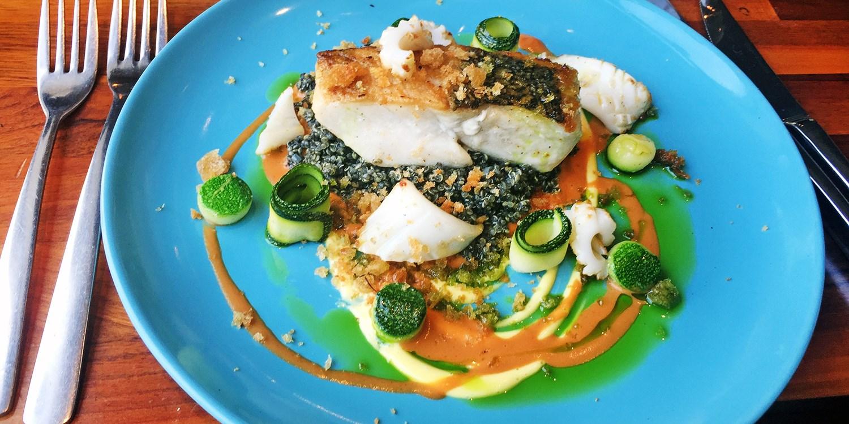 5-course tasting menu at Edinburgh gem