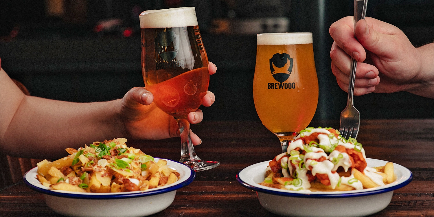 BrewDog beers & snacks for 2 at 42 UK locations