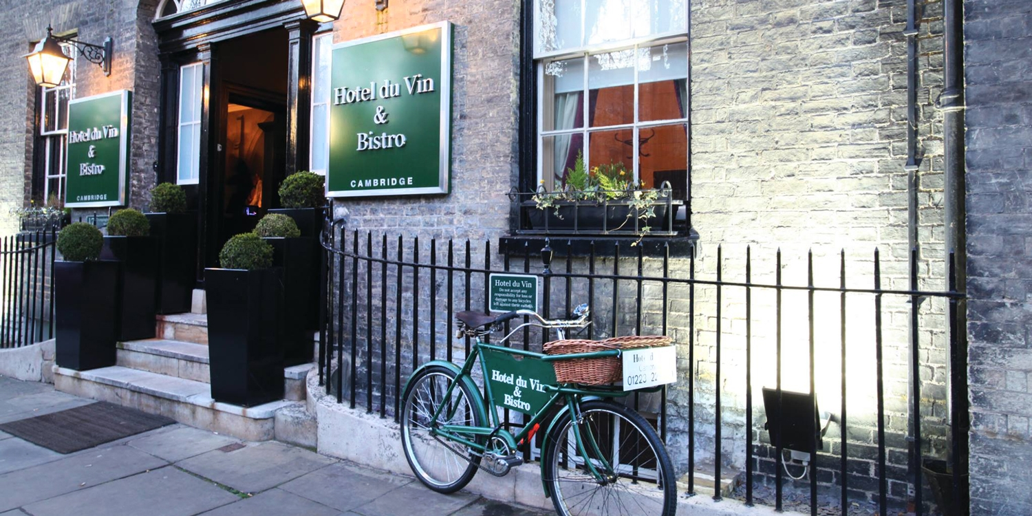 Hotel du Vin 17 locations: 2-course meal & wine for 2