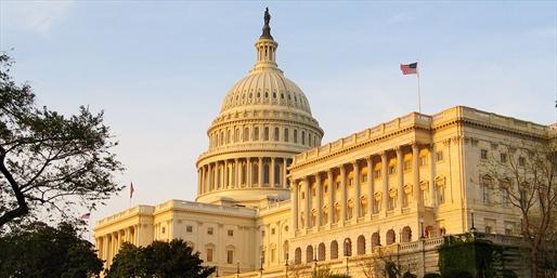 Vista del Capitolio en Washington