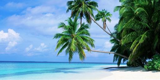 Playas de Male en Las Maldivas