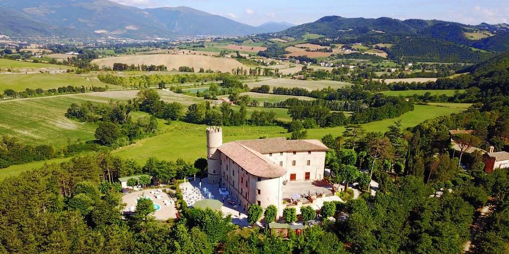 Castello di Baccaresca -- Umbria, Italy