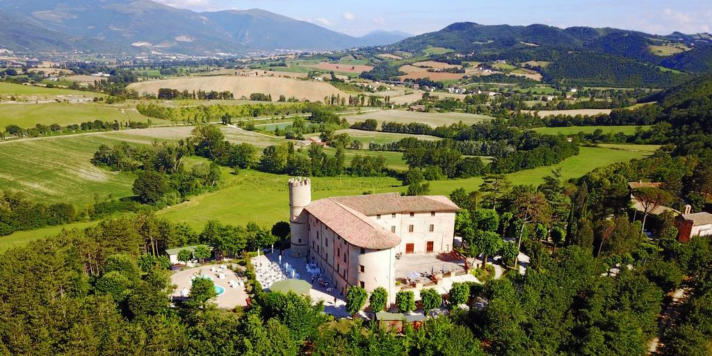 Castello di Baccaresca -- Umbrien, Italien