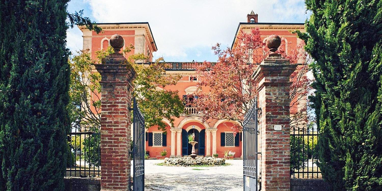 Villa Lena -- Toskana, Italien