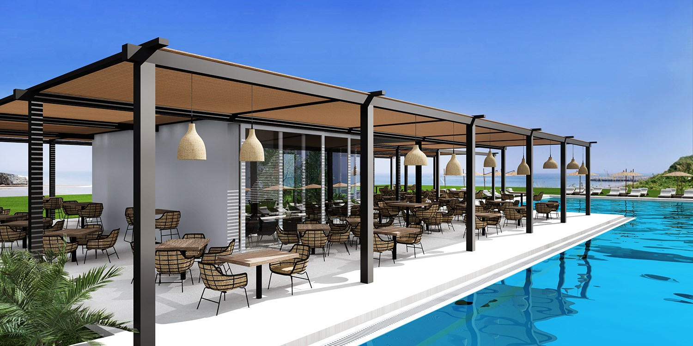 Evita Bay Hotel Rhodes -- Faliraki, Griechenland