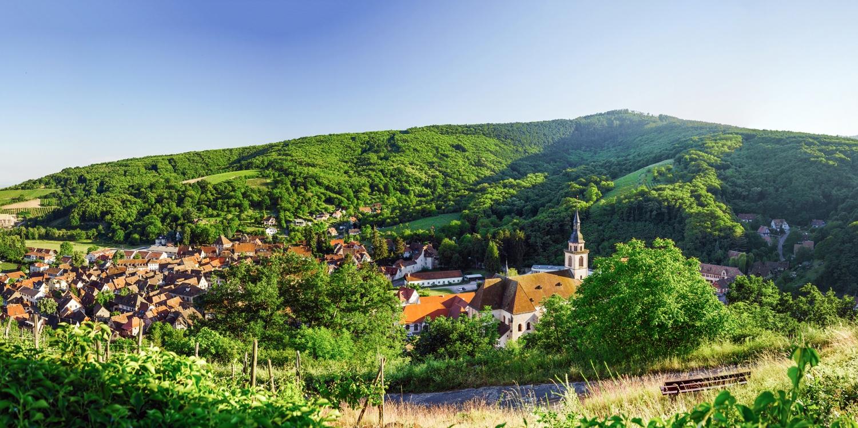 Le Kastelberg -- Andlau, Frankreich