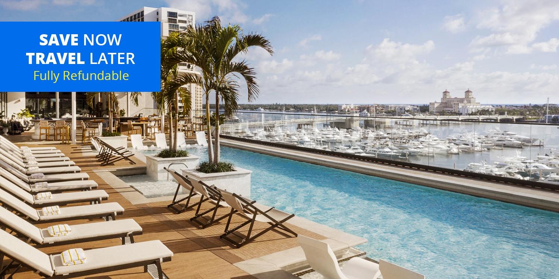 $229& up – West Palm Beach: New 4-Star Waterfront Stay w/Parking -- West Palm Beach, FL