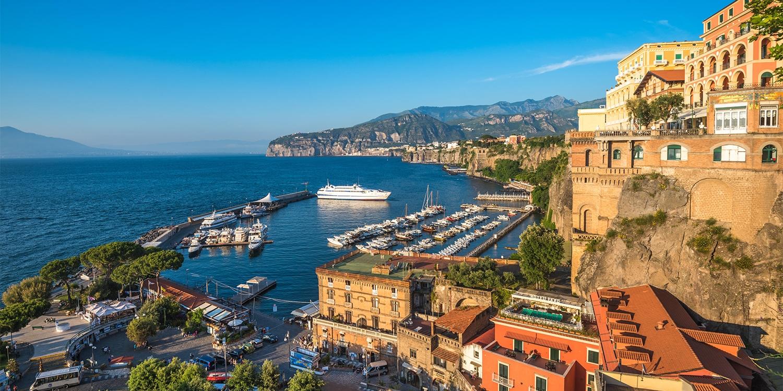 ab 66 € – Panorama-Blick über die Küste von Neapel, -57% -- Castellammare di Stabia, Italien