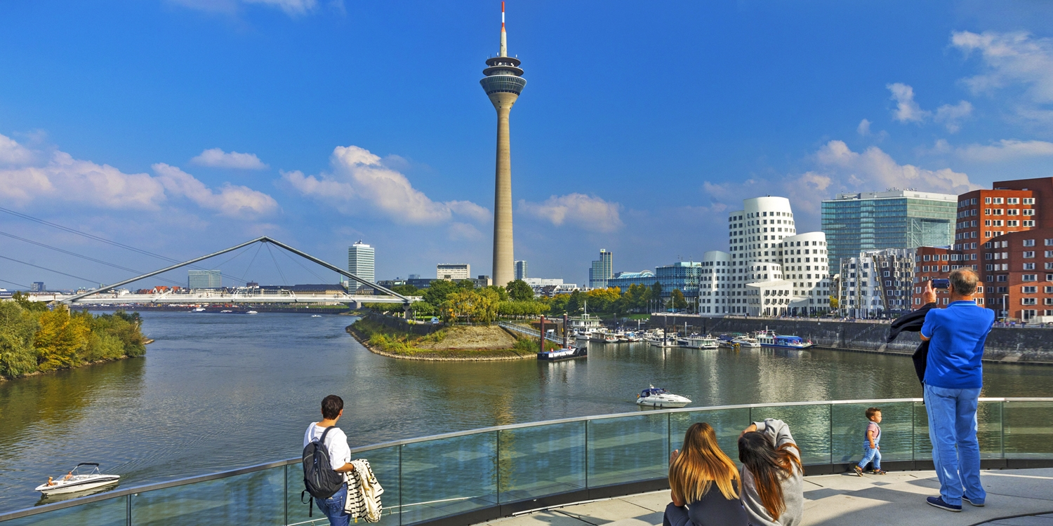 £178 – Summer at the Rhine: 2-nt hotel stay w/fine extras, save 44% -- Düsseldorf, Germany