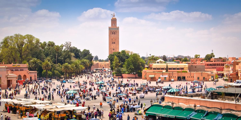 Riad Clefs d'Orient -- Marrakesch, Marokko