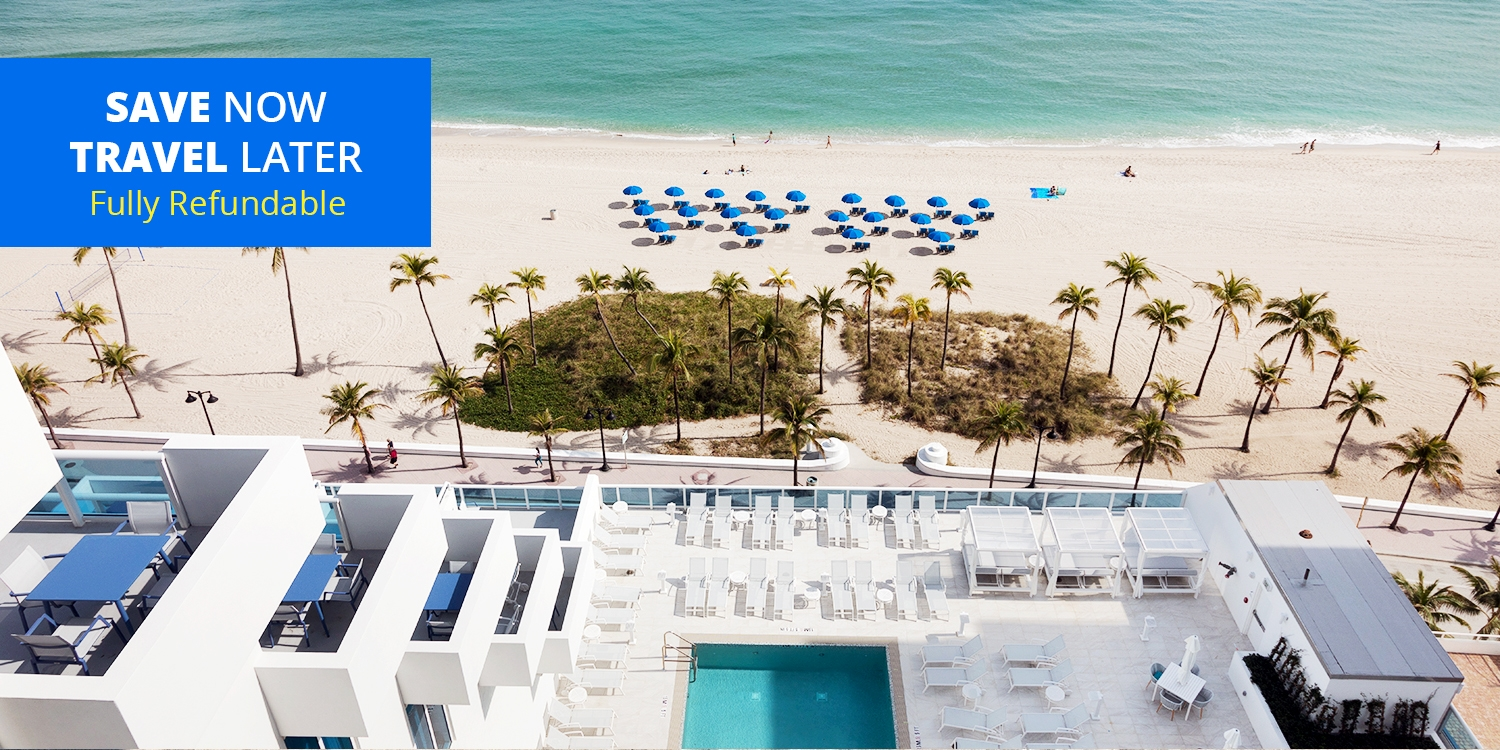 $179 & up – Chic Fort Lauderdale Beachfront Escape -- Fort Lauderdale, FL