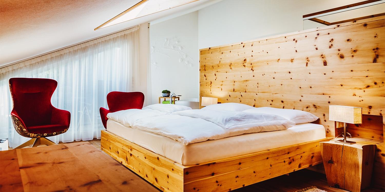 Dach-Suite: Gourmet- und Boutiquehotel Tanzer