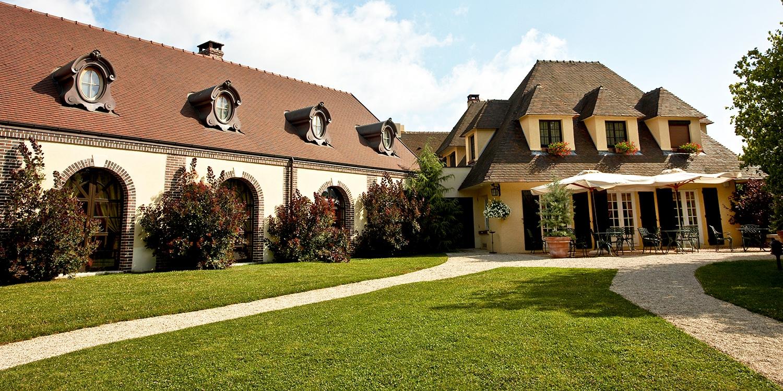 Hostellerie La Briqueterie 5* Relais & Châteaux -- Vinay, France