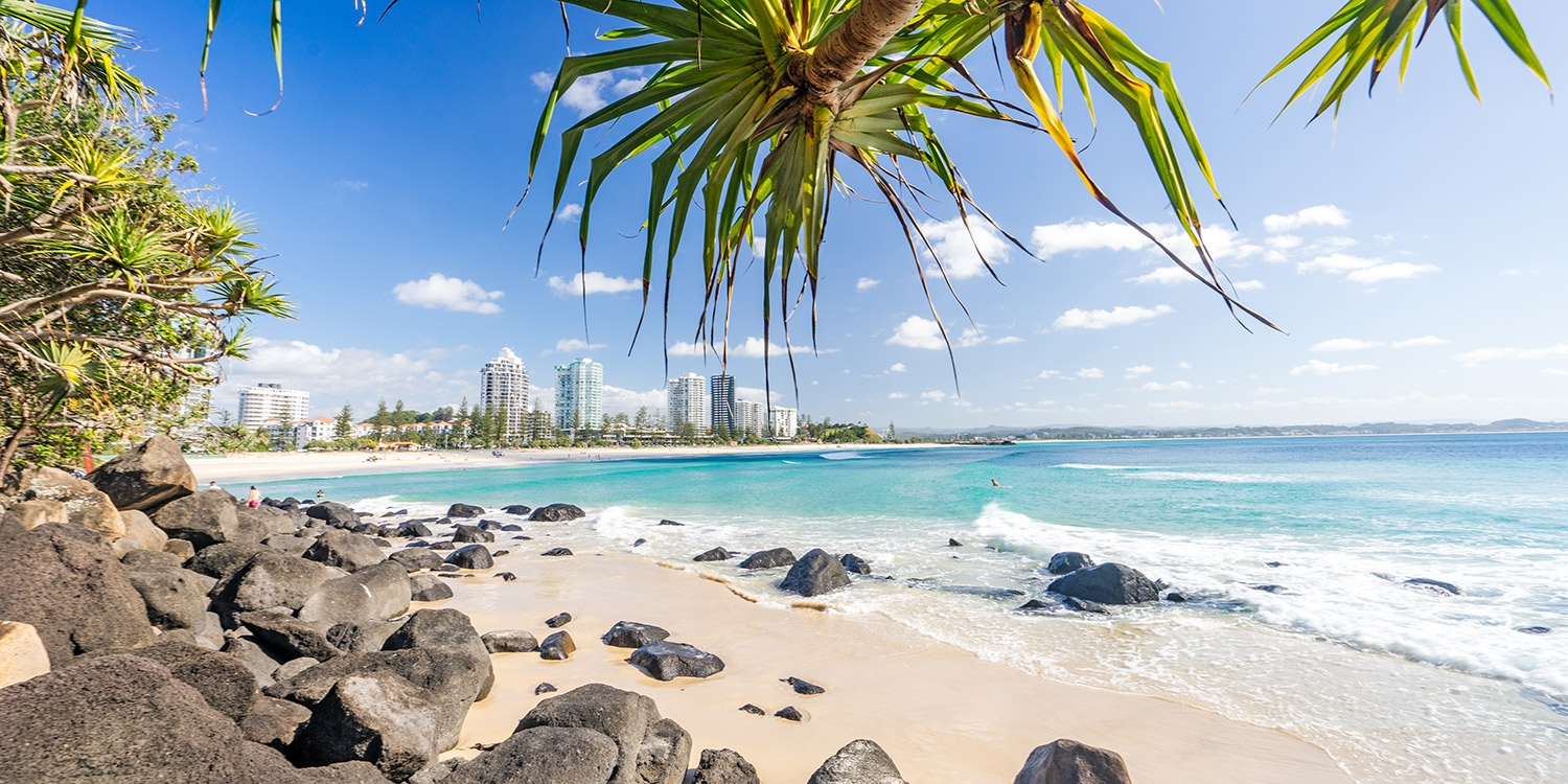 $795 – Coolangatta: 3-Nt Upscale Stay for 4, up to 50% off -- Coolangatta, Gold Coast
