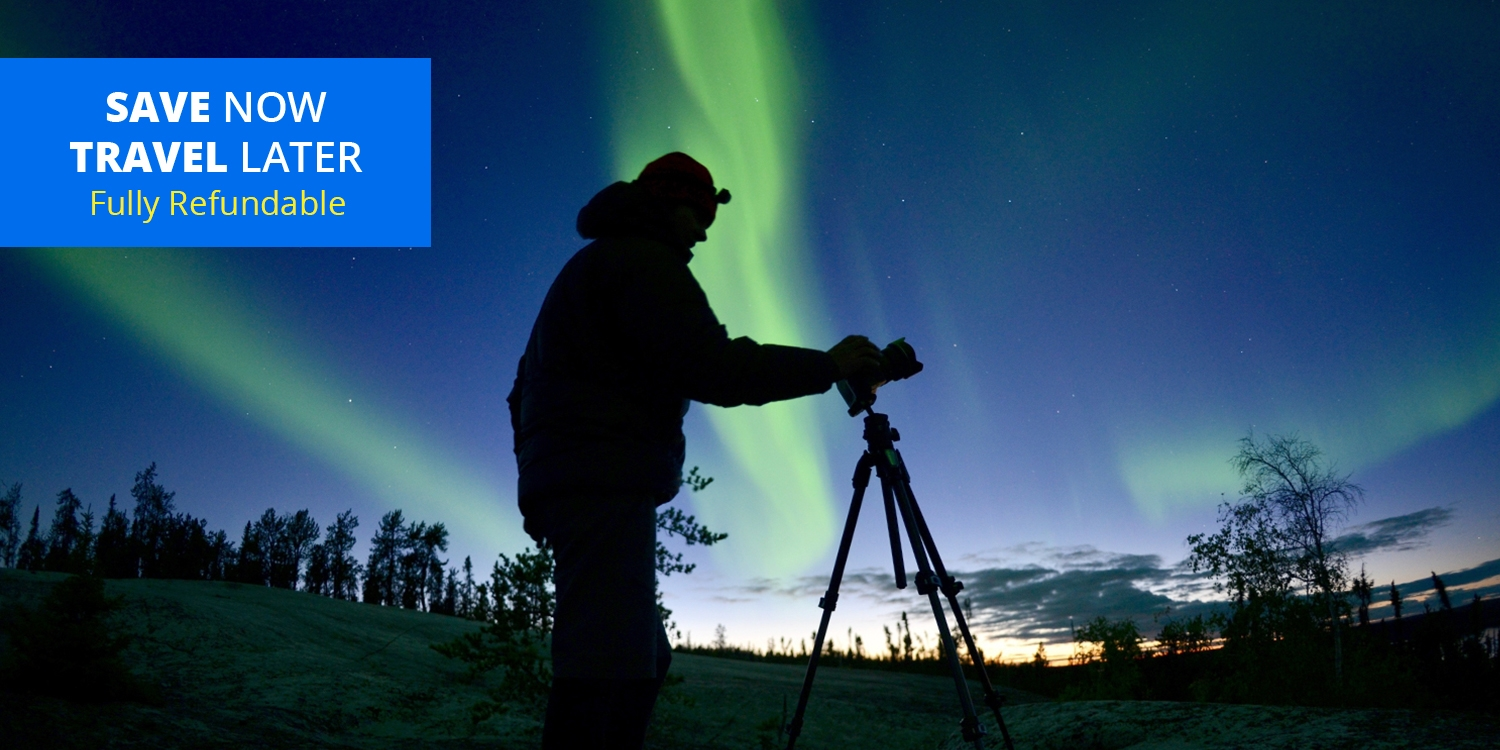 £176 – See the Northern Lights: Yukon Hotel + Tour for 2 -- Whitehorse, Canada