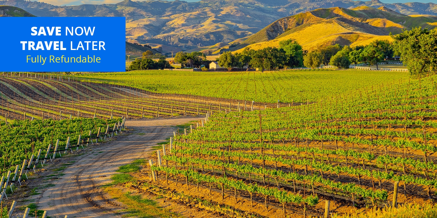 $79 – Santa Ynez Wine Country Getaway for 2, 40% Off -- Buellton, CA