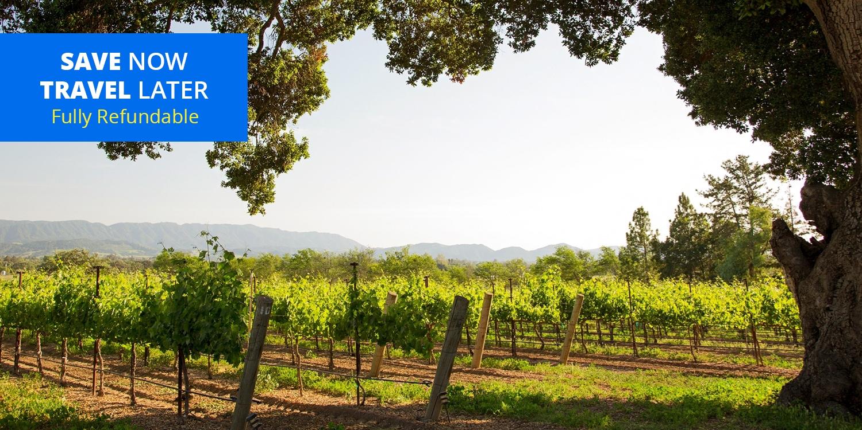 $245 – Central Coast Wine Country Inn w/Breakfast -- Orcutt, CA