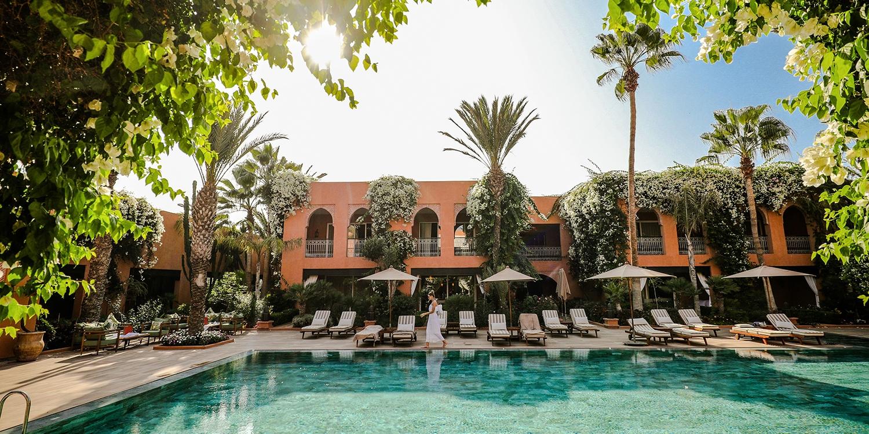 Tikida Golf Palace - Relais & Châteaux -- Agadir, Marokko