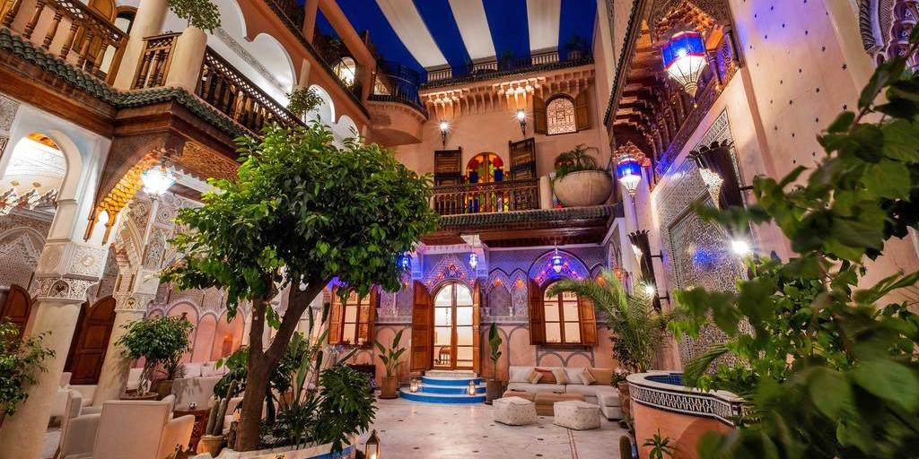Riad Azad -- Marrakech, Maroc