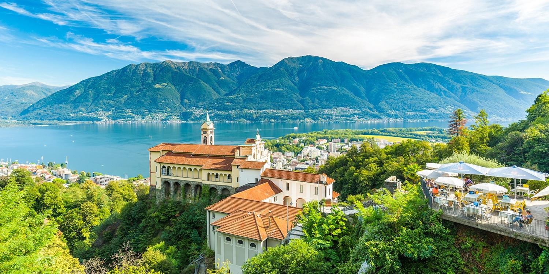 ab 89€ – 100% Weiterempfehlung: Hotel amLago Maggiore-48% -- Locarno, Schweiz