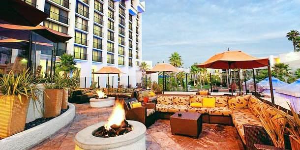 Newport Beach Marriott Hotel And Spa Ca