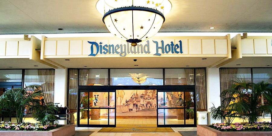Disneyland Hotel - On Disneyland Resort Property -- Anaheim, CA