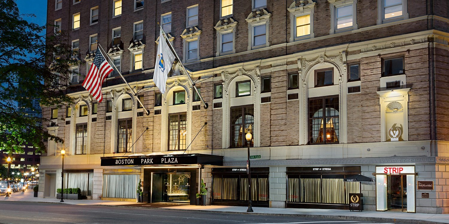 Boston Park Plaza -- Financial District - Downtown - Boston Common, Boston