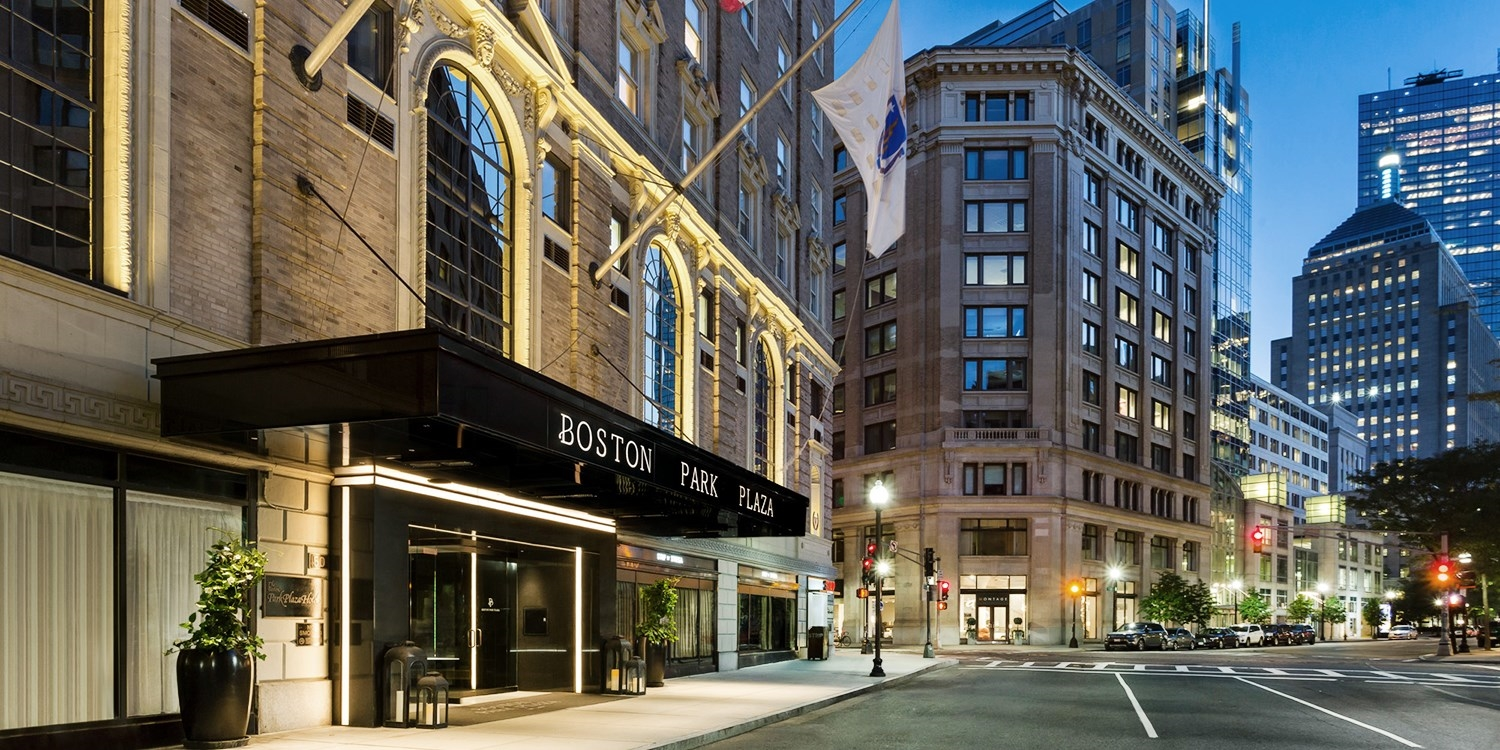 Boston Park Plaza -- Back Bay, Boston