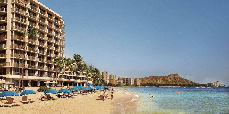 Outrigger Reef Waikiki Beach Resort -- Honolulu, HI