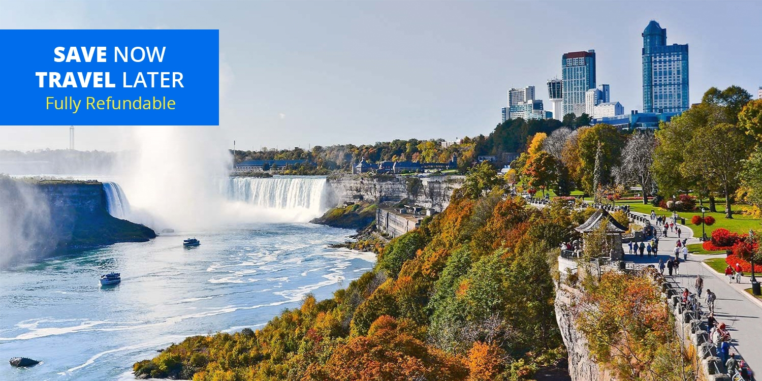 £73 – 4-Star Fallsview Suite Package w/Breakfast & Extras, over 60% Off -- Niagara Falls, Canada