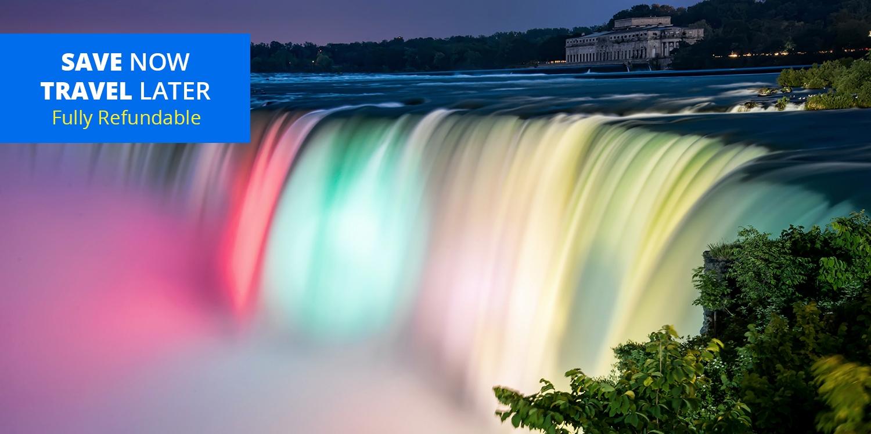 $115 & up – 4-Star Fallsview Suite w/Extras, up to 55% Off -- Niagara Falls, Ontario