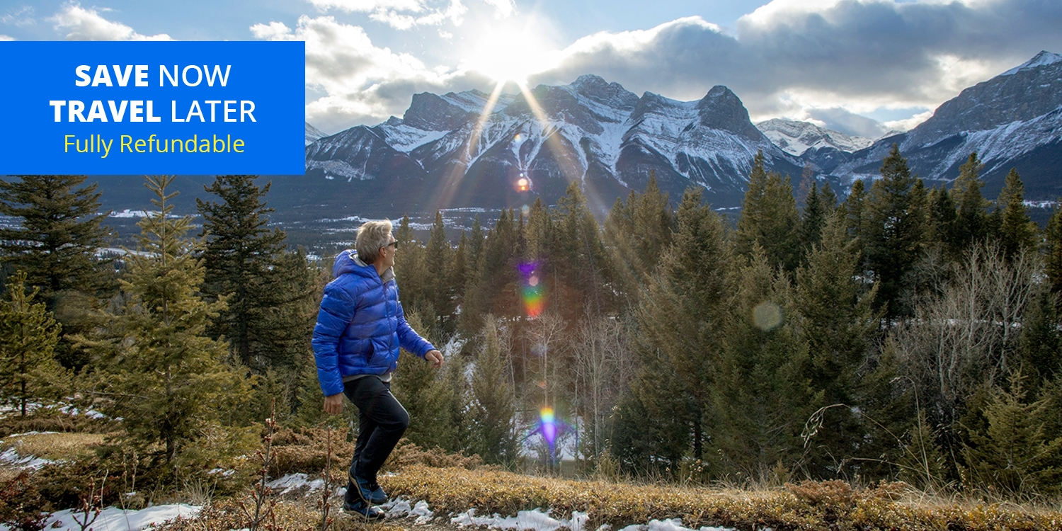 $89 – Alberta Rockies Stays w/Wine, New Dates thru March -- Canmore, Alberta