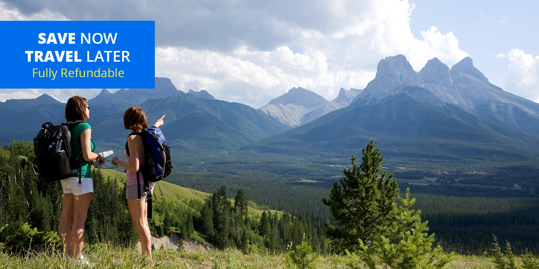 $89 & up – Alberta Rockies Stays w/Wine thru November -- Canmore, Alberta