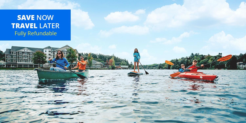 $119 & up – Adirondacks Waterfront Lodge This Year, 35% Off -- Saranac Lake, NY